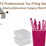 T2 Professional Tax E Filing Service Providers ABS in Alberta Edmonton Area Calgary Red Deer and All Over Canada at Tenable Monetary Value