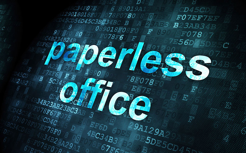 Paperless-Office-Environment
