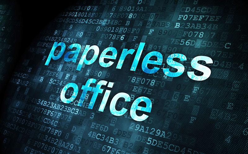 Paperless-Office-Environment